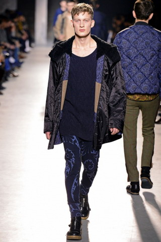 Dries Van Noten / осень-зима 2013-2014